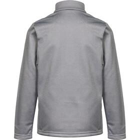 Odlo Carve Light Couche intermédiaire avec demi zip Enfant, odlo concrete grey melange